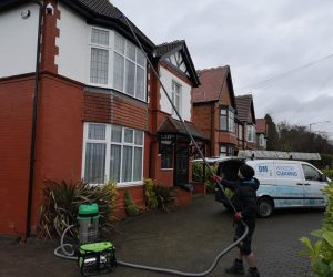 Fascia, gutters and roof cleaning